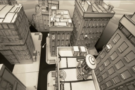 papercity overhead shot